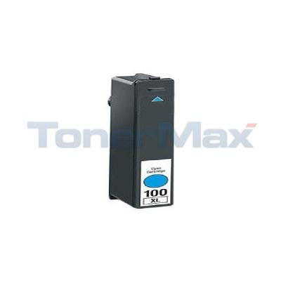 LEXMARK 100XL INK CARTRIDGE CYAN RP HY